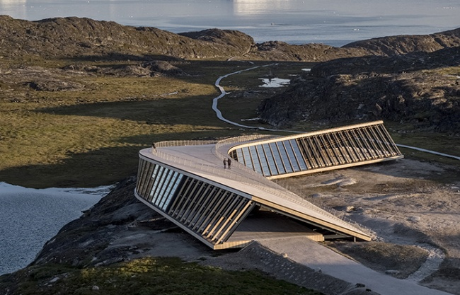 Ilulissat Icefjord Centre by Dorte Mandrup